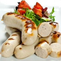 All Natural Boudin Blanc Sausages